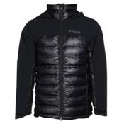 Columbia Heatzone 1000 TurboDown Mens Insulated Ski Jacket, Black, medium