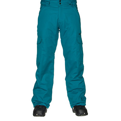 Oakley Cascade BioZone Insulated Mens Snowboard Pants, Jet Black, viewer