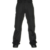 Oakley Cascade BioZone Insulated Mens Snowboard Pants, Jet Black, medium