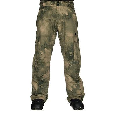 Oakley Cascade BioZone Insulated Mens Snowboard Pants, Jet Black, viewer