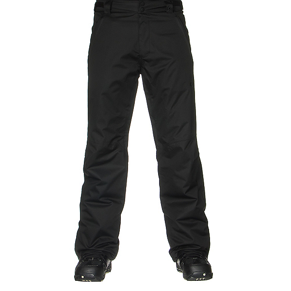 Oakley Fleet 2 BioZone Insulated Mens Snowboard Pants, Jet Black, 600