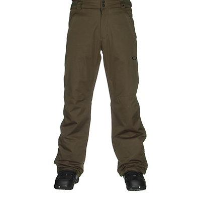 Oakley Fleet 2 BioZone Insulated Mens Snowboard Pants, Flare Orange, viewer