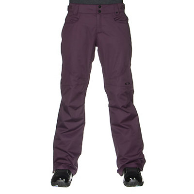 Oakley Tippy Toe BioZone Insulated Womens Snowboard Pants, Purple Shade, viewer