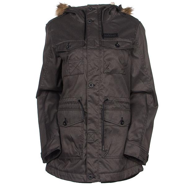 Oakley Tamarack w/Faux Fur Womens Jacket, Jet Black, 600