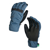 Oakley Roundhouse Short Gloves, Blue Shade, medium