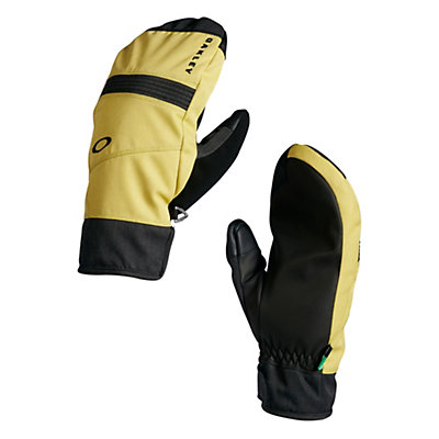 Oakley Roundhouse Mittens, Citrus, viewer