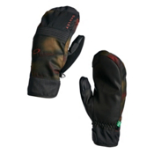 Oakley Roundhouse Mittens, Burnished Haze, medium