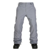 686 Authentic Standard Mens Snowboard Pants, Grey, medium