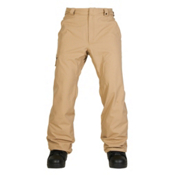 686 Authentic Standard Mens Snowboard Pants, Khaki, medium