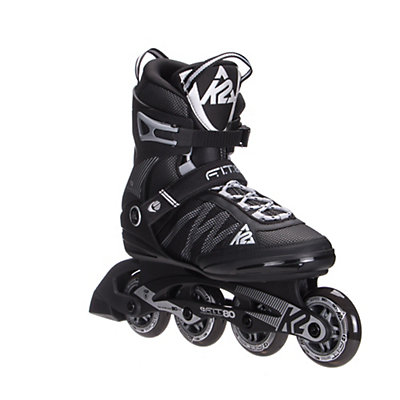 K2 F.I.T. 80 Inline Skates 2017, Black-Silver, viewer