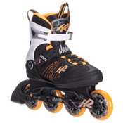 K2 Alexis 80 Womens Inline Skates 2016, Black-Tangerine, medium