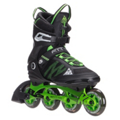 K2 F.I.T. Pro 84 Inline Skates, Black-Green, medium
