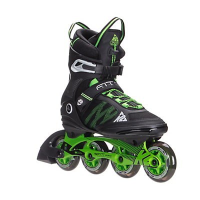 K2 F.I.T. Pro 84 Inline Skates, Black-Green, viewer