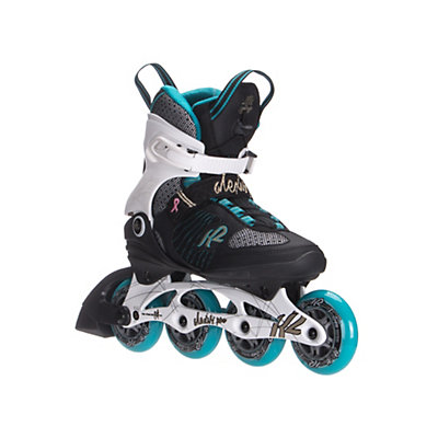 K2 Alexis Pro 84 Womens Inline Skates 2016, White-Blue-Gold, viewer