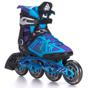 K2 VO2 90 Pro Womens Inline Skates 2017, Black-Blue-Purple, medium