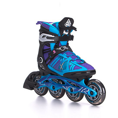 K2 VO2 90 Pro Womens Inline Skates 2017, Black-Blue-Purple, viewer