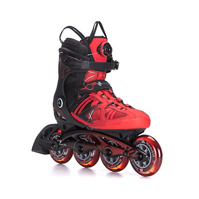 K2 VO2 90 Boa Inline Skates 2016, Red-Black, viewer