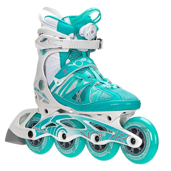 K2 VO2 90 Boa Womens Inline Skates, Turquoise-White, 600