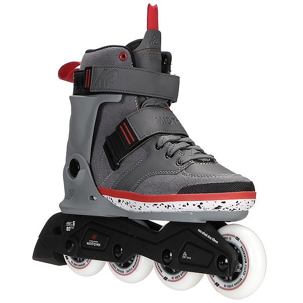 K2 Midtown Urban Inline Skates 2017, Gray, 600