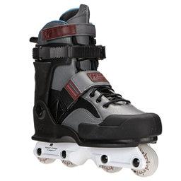 K2 Front Street Aggressive Skates, Gray-Black, 256