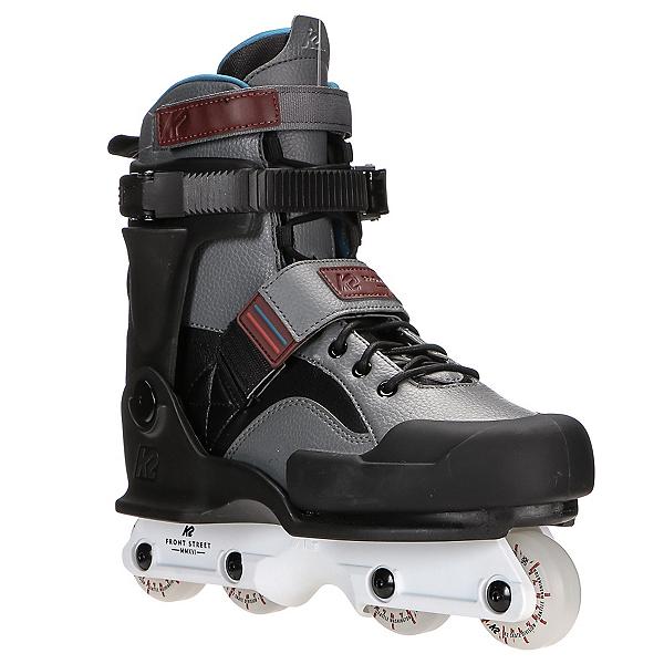 K2 Front Street Aggressive Skates, Gray-Black, 600