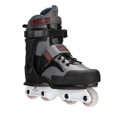 K2 Front Street Aggressive Skates, Gray-Black, viewer
