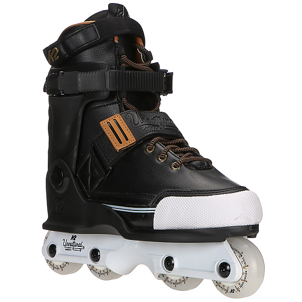K2 Unnatural Aggressive Skates, Black, 600