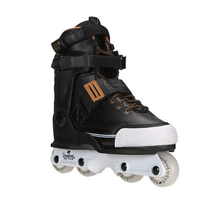 K2 Unnatural Aggressive Skates, Black, viewer