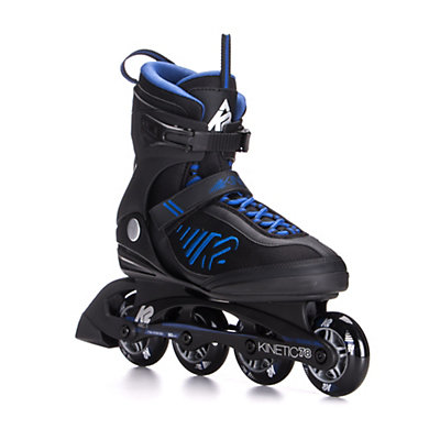 K2 Kinetic 78 Inline Skates 2017, Black-Blue, viewer