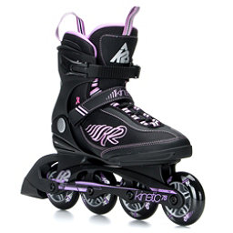 K2 Kinetic 78 Womens Inline Skates 2017, Black-Purple, 256