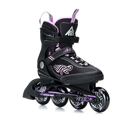 K2 Kinetic 78 Womens Inline Skates 2017, Black-Purple, viewer
