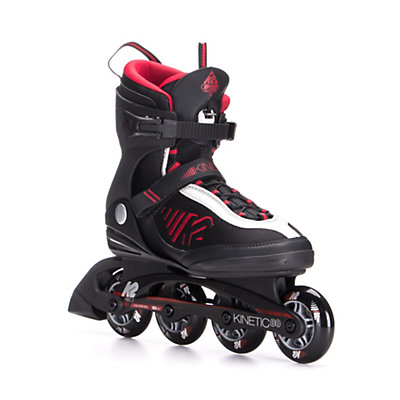 K2 Kinetic 80 Inline Skates 2017, Black-Red-Silver, viewer