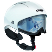 OSBE Majic Snow Helmet, Shiny White, medium