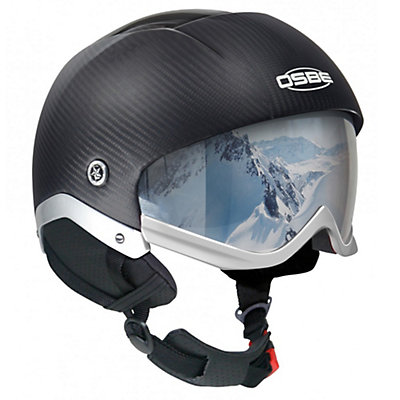 OSBE Majic Snow Carbon Helmet, Carbon, viewer