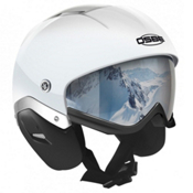 OSBE Majic Ski Helmet, White Flake, medium