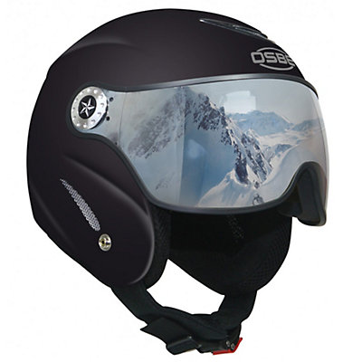 OSBE Proton Sr Ski Helmet, Metal Black, viewer