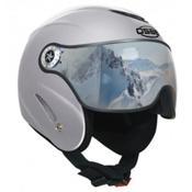 OSBE Proton Sr Ski Helmet 2016, Metal Silver, medium