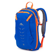 High Sierra Symmetry 18 Backpack, Vivid Blue-Electric Orange, medium