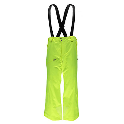 Spyder Propulsion Athletic Mens Ski Pants (Previous Season), Bryte Yellow, viewer