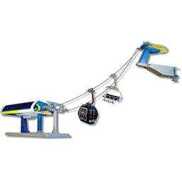 Model Ski Lifts Six-Seater, One Gondola Set 2017, Blue-Yellow, 256