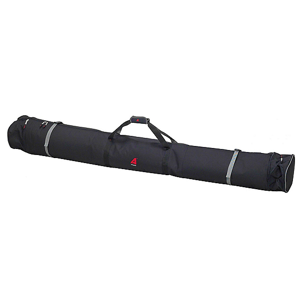 Athalon Expanding Padded Double Ski Bag, Black, 600