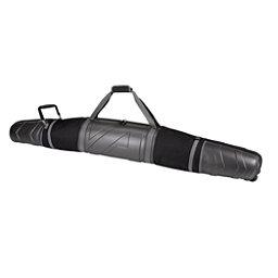 Athalon Molded Wheeling Double Ski Bag, Black, 256