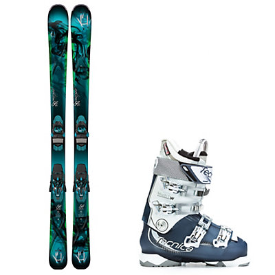 K2 Potion 84 XTi, and Tecnica Mach 1 95 W Womens Ski Package, , viewer