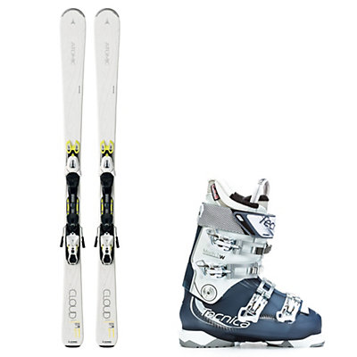 Atomic Cloud Eleven, and Tecnica Mach 1 95 W Womens Ski Package, , viewer
