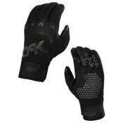 Oakley Factory Pipe Gloves, Jet Black, medium