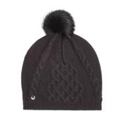 UGG Isla Lurex Womens Hat, Black M, medium