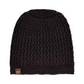 UGG Sequoia Solid Knit Womens Hat, Black, medium