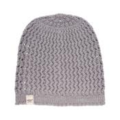 UGG Sequoia Solid Knit Womens Hat, Grey Heather, medium