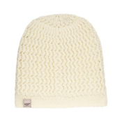 UGG Sequoia Solid Knit Womens Hat, Cream, medium