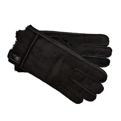 UGG Sidewall Mens Gloves, Black, viewer